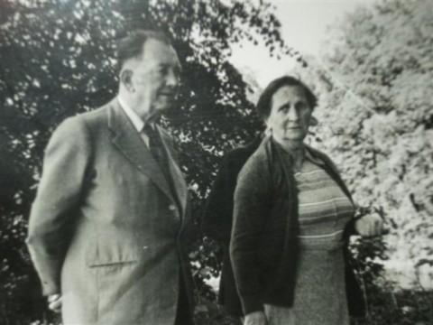 Т.К. и Пьер Бёф (1982 год, в России)