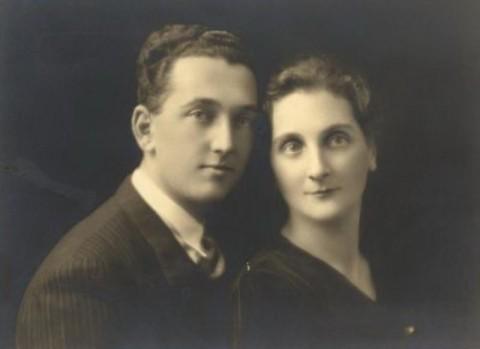 Татьяна и Пьер в день свадьбы (1932 г.)