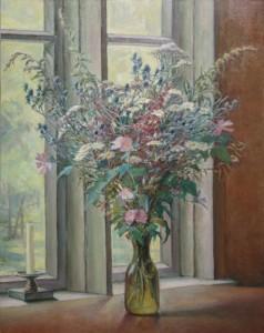 «Букет цветов» Х.М. 90Х70 2000 год