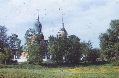 Церковь Николая Чудотворца в Черкизово. Май 1976 года