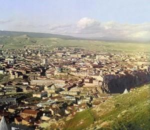 Тифлис в начале 20 века. Фотография С.М.Прокудина-Горского