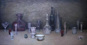 """""""Цветное стекло"""" Х.М. 55Х105 2007 год"""