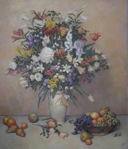 """""""Цветы и фрукты"""" Х.М. 130Х110 2006г."""