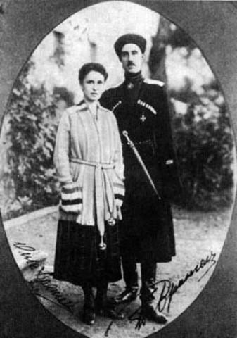 Воспитывался в семье вдовы П.Н.Врангеля баронессы Врангель