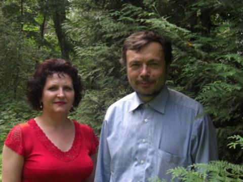 Виктор Борисович Воздвиженский с супругой Марией Васильевной
