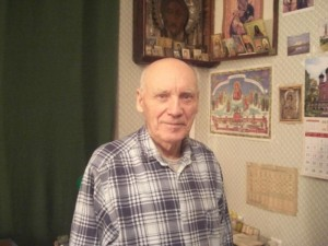 Владимир Иванович Гоманьков (у себя дома, октябрь 2008 г)
