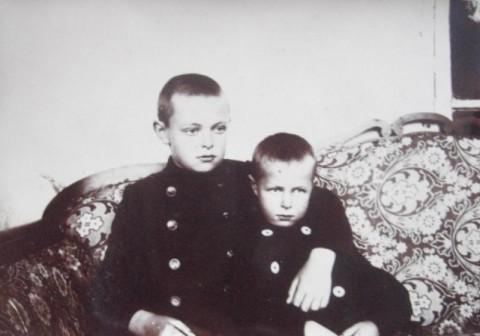 Виктор и Валентина Мейены (примерно 1910 год)