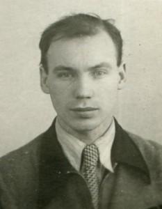 В.И.Гоманьков. Декабрь 1954 года
