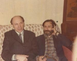 В.И.Гоманьков и С.А.Тутунов (1979 год, на Масловке)