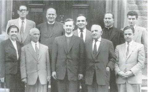 Дядя С.И.Балуева Николай Сергеевич Арсеньев (в 1 ряду, второй справа)