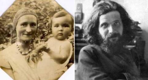 Моя мать и я. Муром, Лето 1934 г. Отец Сергий Сидоров (начало 30-х годов)