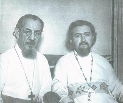 о.Владимир Смирнов и о.Александр Егоров