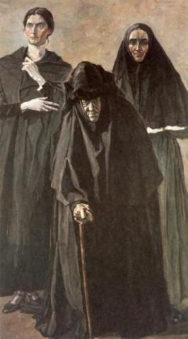 С.М.Мейен - слева