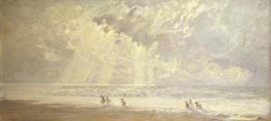 """""""Небо. Море. Дети"""" 1965 - 1988 г.г. Х.М. 75Х160"""