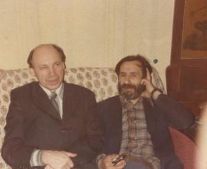 С А Тутунов и В И Гоманьков (1979 г, Москва)