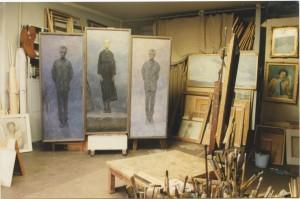 В мастерской на Верхней Масловке, 1997 год