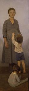 """""""Семья художника""""  1964 г. Х.М. 220Х75"""
