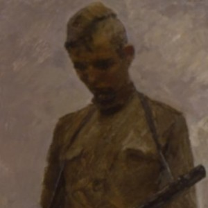 """Солдат"" 1979 г. Х.М. 200х75."