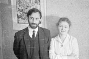 С А Тутунов и Е В Тутунова (1970 год, в гостях у А.Трубецкого)