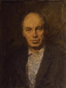 """""""Портрет физика В.И.Гоманькова"""" 1971 г. К.М. 64Х51"""